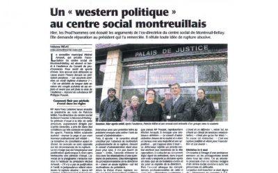 Un « western politique » au centre social Montreuillais