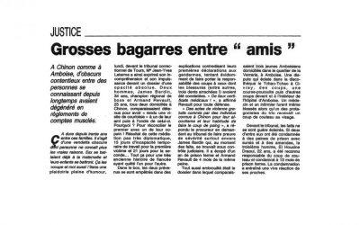 "Grosses bagarres entre ""amis"""