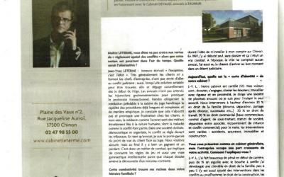 « Cabinet Leterme à Chinon : avocats de combat »